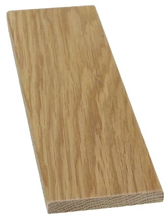 Höylätty tammi 9x68x1000 mm lakattu