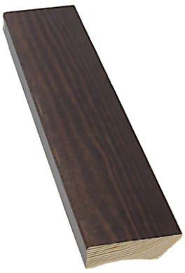 Jalkalista 12x42x3300 mm sävy kuultava pähkinä