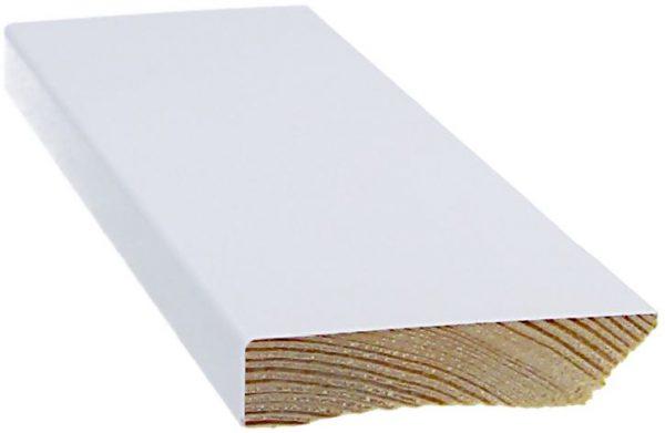 Jalkalista 12x58x3300 mm valkoinen