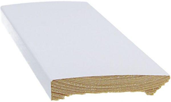 Jalkalista 12x70x3300 mm valkoinen