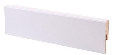 Jalkalista MDF 12x42x2750 mm Smart valkoinen