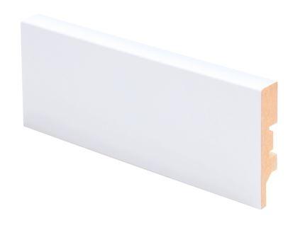 Jalkalista MDF 12x58x2750 mm valkoinen