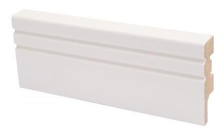Jalkalista MDF koriste 16x58x2750 mm Jana valkoinen