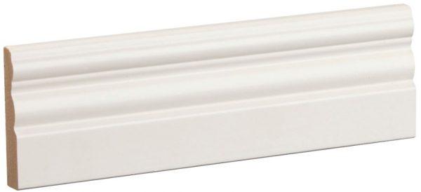 Jalkalista Siparila Kumpu 15x68x3600 mm valkoinen
