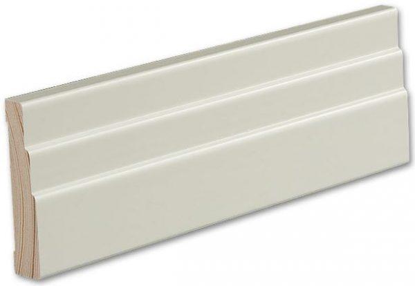 Jalkalista Siparila Vana 15x70x3600 mm valkoinen
