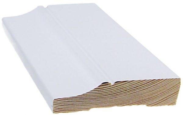 Jalkalista koriste 15x70x3300 mm Penttilä valkoinen