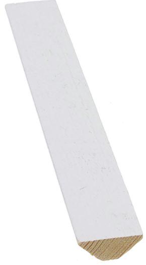 Kattolista 12x28 mm Karhe valkoinen