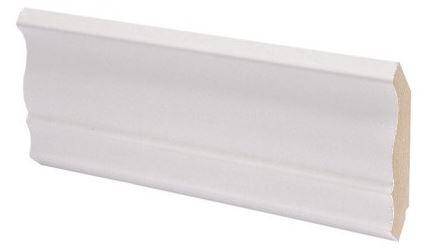 Kattolista MDF koriste 42x42x2750 mm Piirto valkoinen