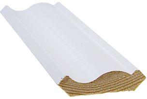 Kattolista koriste 15x56x3300 mm Laine valkoinen