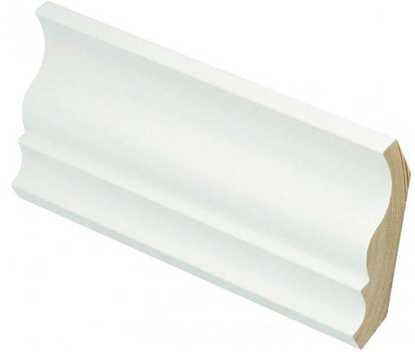 Kattolista koriste 15x95 mm Eskeli valkoinen