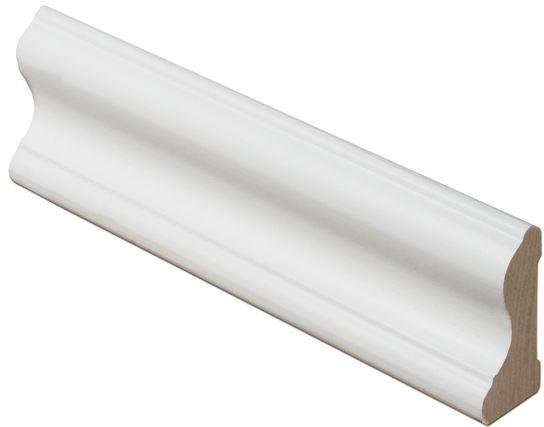 Kattolista koriste 21x42x3300 mm Aalto valkoinen