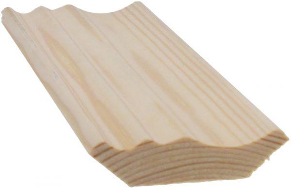 Kattolista koriste 45x45x3300 mm Harmony mänty puuvalmis