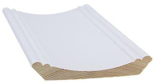 Kattolista koriste 67x67x3300 mm Massive valkoinen