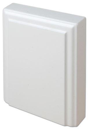 Kulmapala MDF alapala 100x125 mm maalattu valkoinen