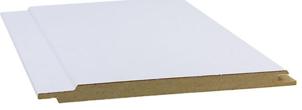 MDF-paneeli 10x150x2600 mm STP valkoinen