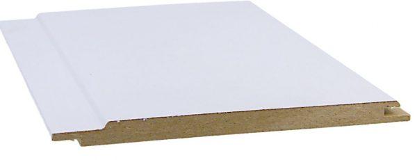 MDF-paneeli 10x150x2600 mm STP valkoinen puunsyykuvioitu