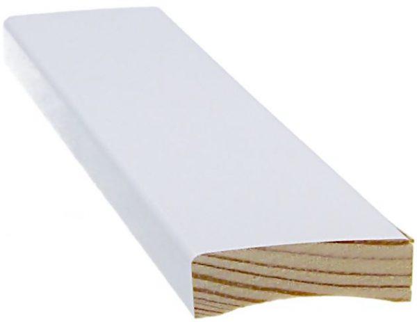 Peitelista 12x42x3300 mm valkoinen