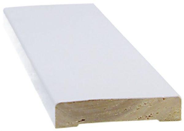 Peitelista 12x58x2200 mm valkoinen