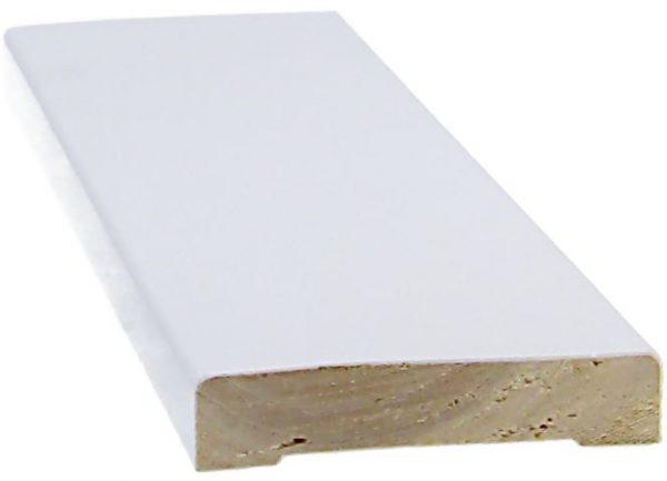 Peitelista 12x58x3300 mm valkoinen