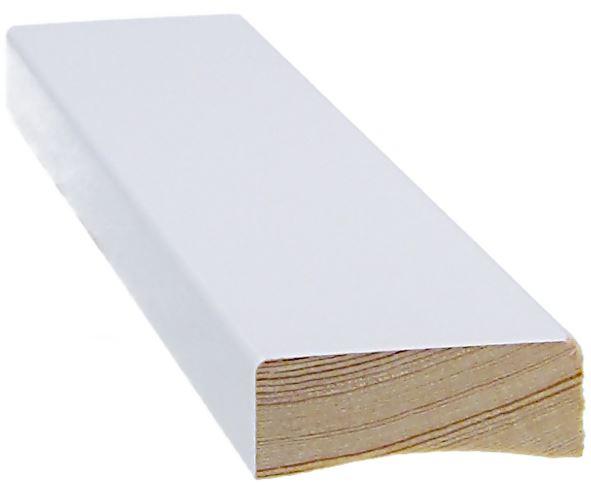 Peitelista 14x42x2200 mm valkoinen