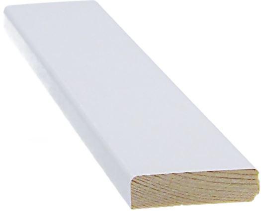 Peitelista 8x33x3300 mm valkoinen