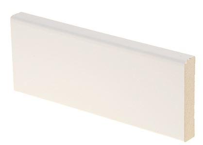 Peitelista MDF 12x58x2200 mm valkoinen