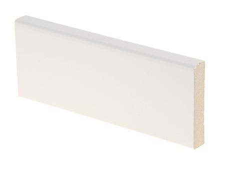 Peitelista MDF 12x58x3300 mm valkoinen