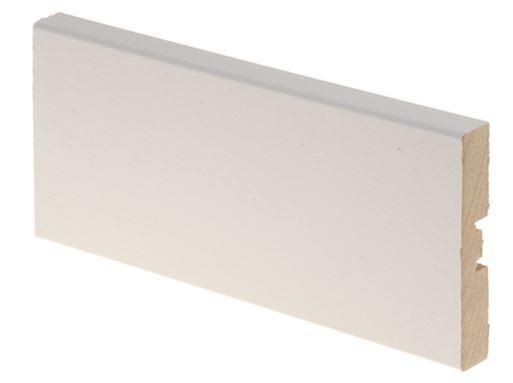 Peitelista MDF 12x70x2200 mm valkoinen