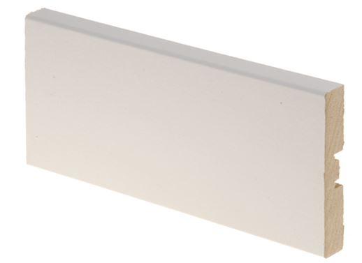 Peitelista MDF 12x70x3300 mm valkoinen