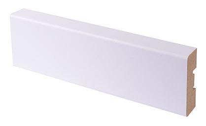 Peitelista MDF 16x42x2200 mm puhdas valkoinen