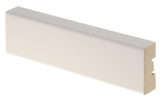 Peitelista MDF 16x42x2200 mm valkoinen