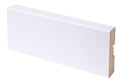 Peitelista MDF 16x58x2200 mm puhdas valkoinen