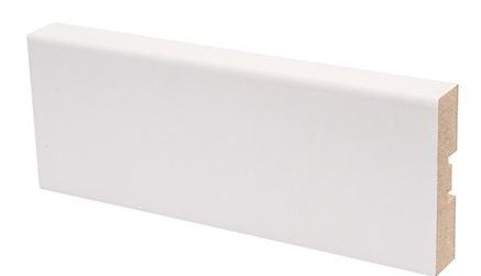 Peitelista MDF 16x58x2200 mm valkoinen