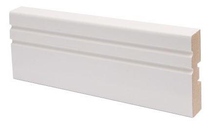 Peitelista MDF koriste 16x58x2200 mm Jana valkoinen