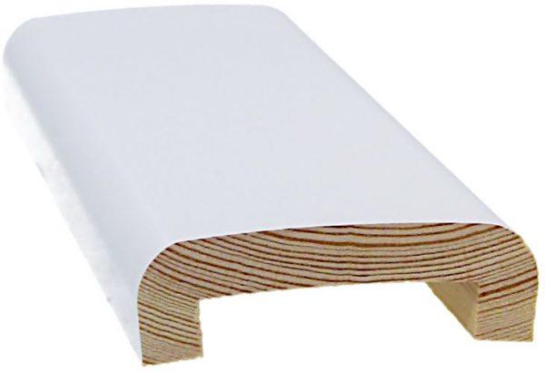 Peitelista johtoura 20x70x2400 mm valkoinen