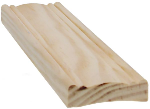 Peitelista koriste12x42x3300 mm mänty puuvalmis