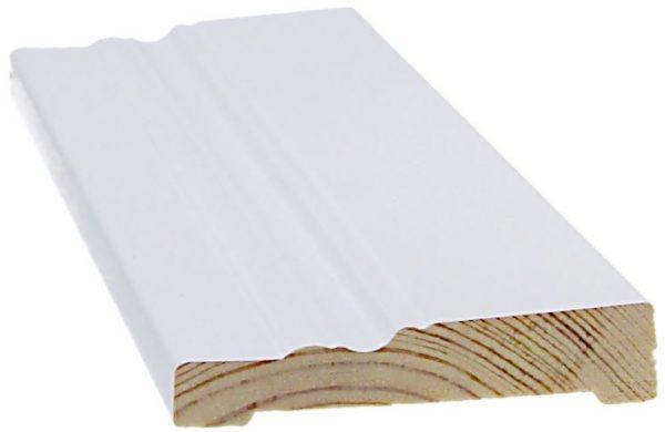 Peitelista koriste 14x68x2200 mm Anttola valkoinen