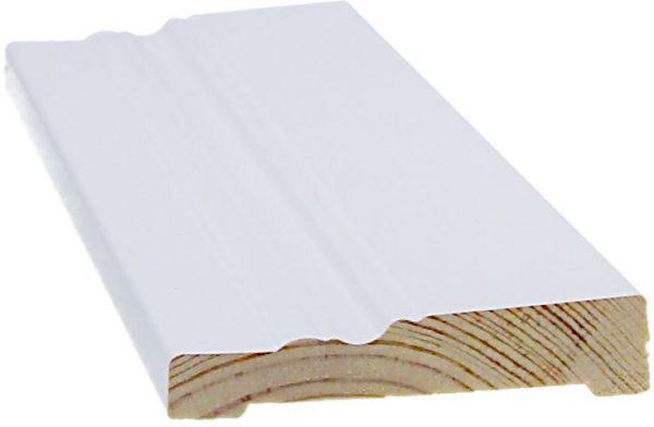 Peitelista koriste 14x68x3300 mm Anttola valkoinen