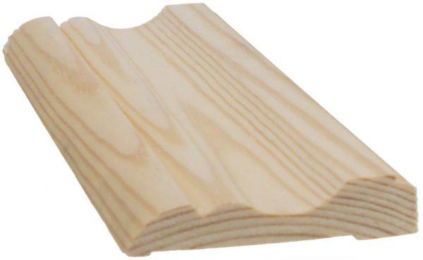 Peitelista koriste 15x69x3300 mm Nurmela mänty puuvalmis