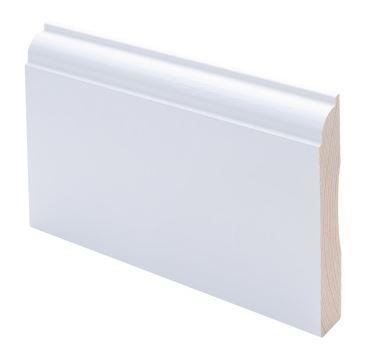 Peitelista koriste 15x90x2200 mm Koski valkoinen