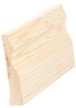 Peitelista koriste 21x95 mm Lautanurmi mänty puuvalmis