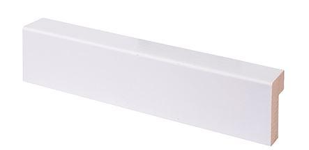 Reunalista 15x32/6x2200 mm Aava valkoinen