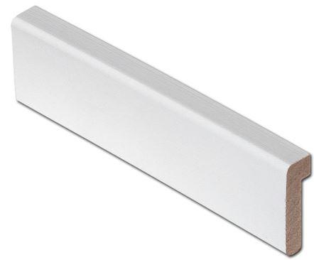 Reunalista 16x42/8x3300 mm valkoinen