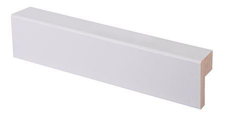 Reunalista 21x32/13x2200 mm Aava valkoinen