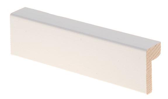 Reunalista 21x42/15x2200 mm Aava valkoinen