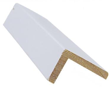 Reunalista 28x45/23x2700 mm Aava valkoinen