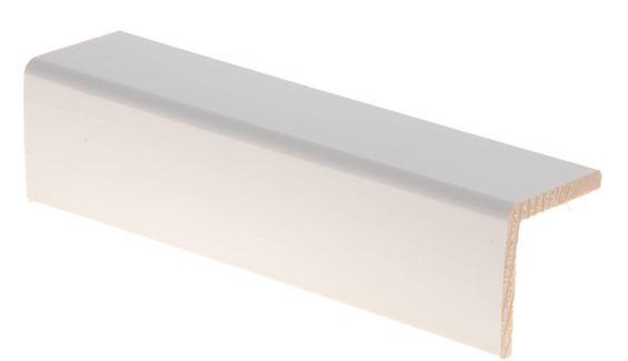 Reunalista 42x42/36x2700 mm Aava valkoinen