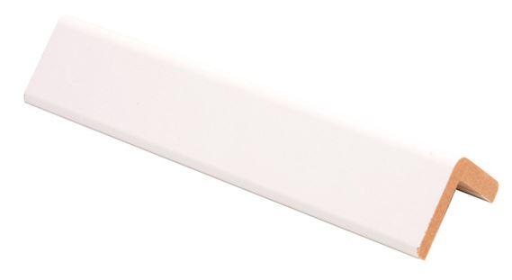Reunalista MDF 32x32/26x2750 mm valkoinen