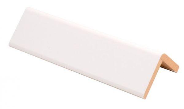 Reunalista MDF 42x42/36x2750 mm valkoinen