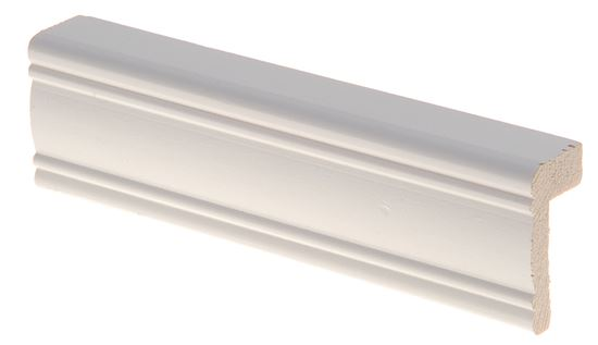 Reunalista koriste 21x42/15x2700 mm Aura valkoinen